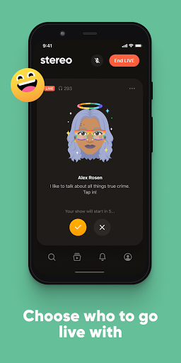 Stereo: Join real conversations with real people  Screenshots 7