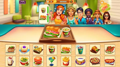 Cook It! City de Filles Jeux de Cuisine en Folie APK MOD – Pièces de Monnaie Illimitées (Astuce) screenshots hack proof 2