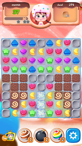 New Sweet Cookie POP : 2020 puzzle world 1.2.6 screenshots 4