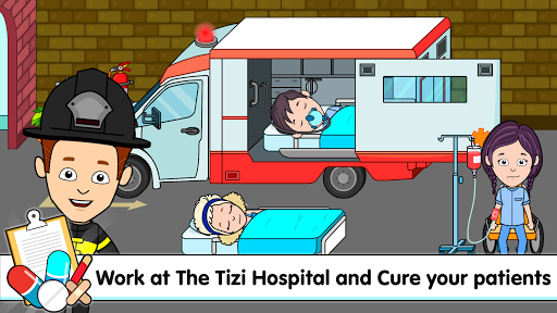 My Tizi Town Hospital - Doctor Games for Kids ud83cudfe5 screenshots 1