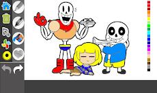 Sans under coloring taleのおすすめ画像3