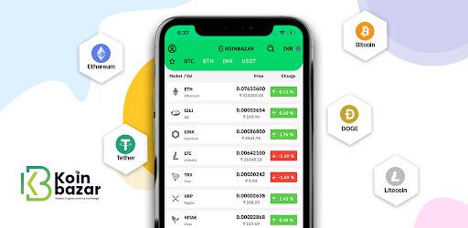 Koinbazar -Bitcoin & Cryptocurrency Exchange India - Apps on Google Play