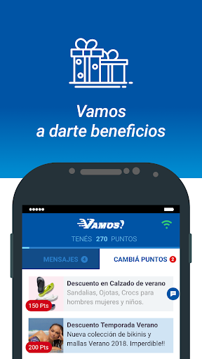 VAMOS - Al fin WIFI! 2.5.0 Screenshots 3