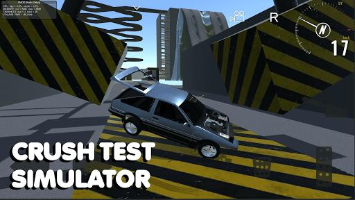 Crash test simulator: destroy car sandbox & drift 2.2 updownapk 1