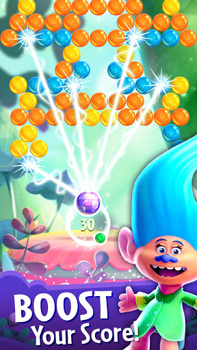 DreamWorks Trolls Pop: Bubble Shooter & Collection  screenshots 6