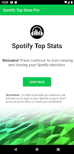 Spotify Top Stats Pro Apk 1.4 (Full Paid) 1