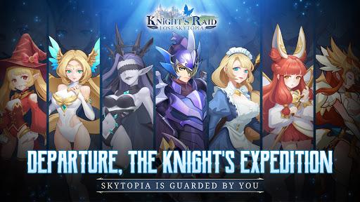 Knight's Raid: Lost Skytopia Varies with device screenshots 1