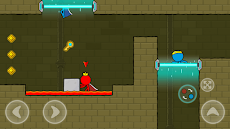 Red and Blue Stickman : Animation Parkourのおすすめ画像4
