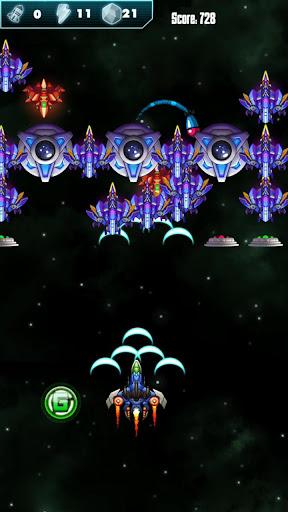 Télécharger Gratuit Galaxy Alien - Attack Shooter APK MOD (Astuce) screenshots 1
