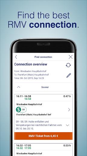 RMV Rhein-Main-Verkehrsverbund 2.10.0 Screenshots 2