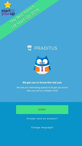 Praditus Personality Test screenshot 1
