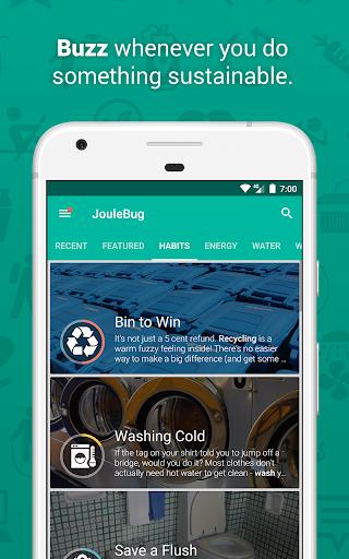 JouleBug  screenshots 1