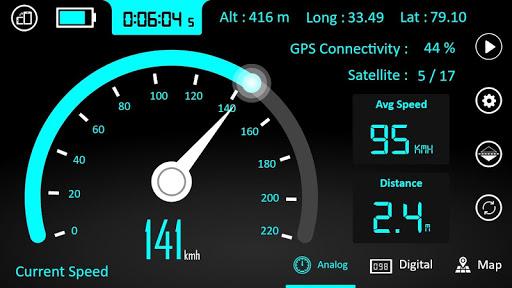 GPS Speedometer : Odometer and Speed Tracker App  Screenshots 5