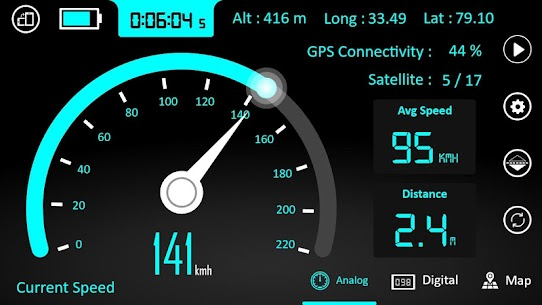 GPS Speedometer : Odometer and Speed Tracker App 5