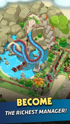 Stone Park: Prehistoric Tycoon - Idle Game  screenshots 6