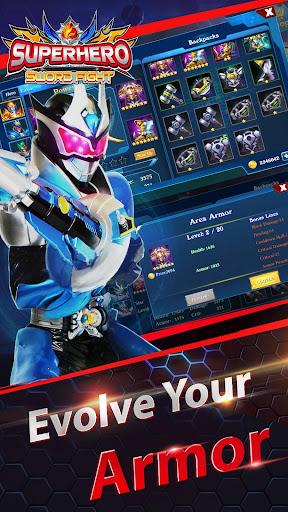 Superheroes Fight: Sword Battle - Action RPG screenshots 9