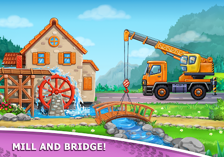 Image For Truck games for kids - build a house, car wash Versi 7.3.4 18