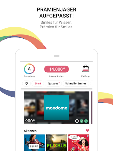 TVSMILES - Quiz and Prizes screenshots 5