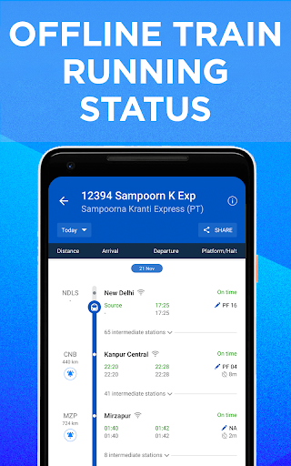 IRCTC Train Booking, PNR Status, Running Status 5.0.8 screenshots 2