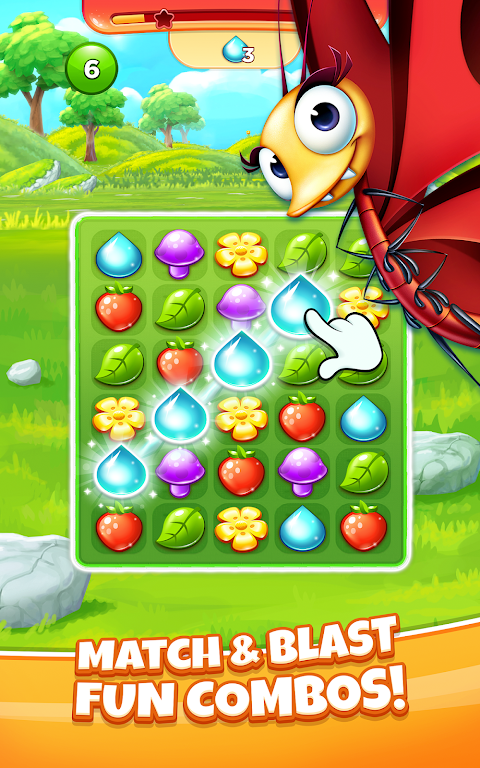 Best Fiends Stars - Free Puzzle Game poster 0