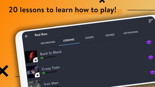 REAL BASS: Electric bass guitar 6.24.0 Screenshots 2