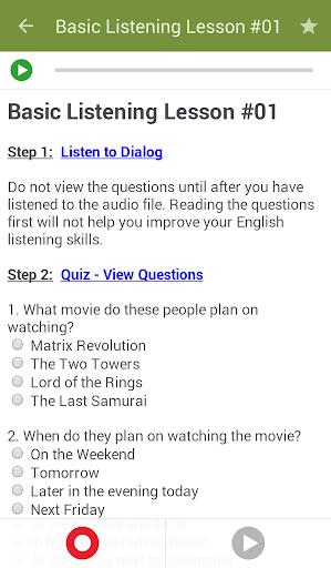 Learn to Speak English 2.4.8 Screenshots 5