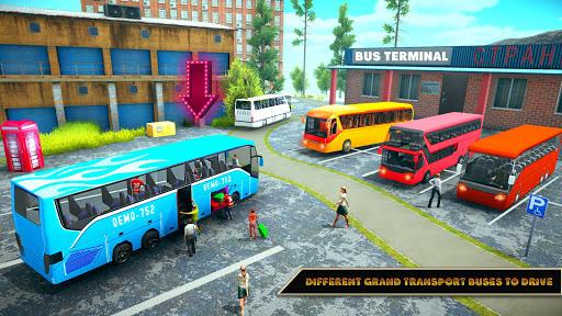 Offroad Bus Driving Simulator 2019: Mountain Bus apktram screenshots 10