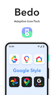 Bedo Adaptive Icon Pack APK (PAID) Download Latest 5