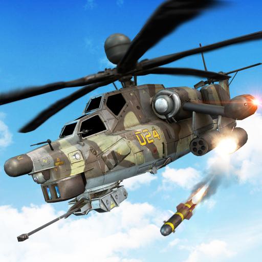 Gunship War: Helicopter Battle 3D