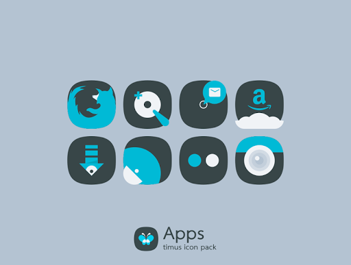 Download APK: Timus Dark Icon Pack v6.1 [Patched]