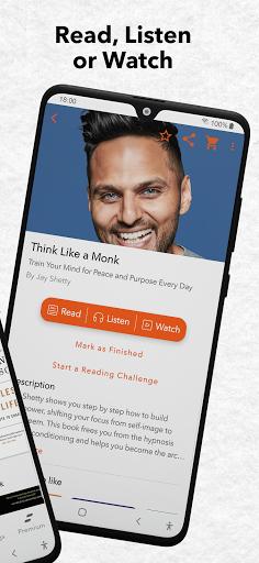 StoryShots - Book Summaries & Free Audio Books screen 1
