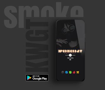 Smoke kwgt 2020 Apk 3
