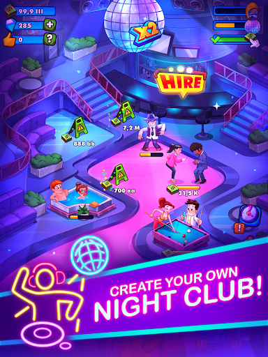 Party Clicker u2014 Idle Nightclub Game  screenshots 6