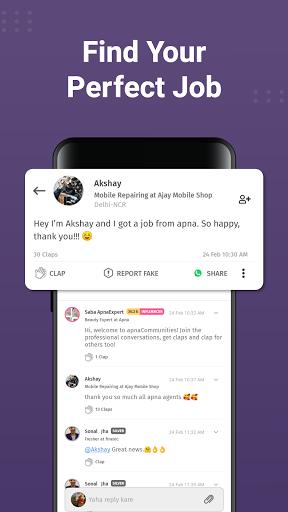 apna: Job Search India, Vacancy Alert, Online Work apktram screenshots 6