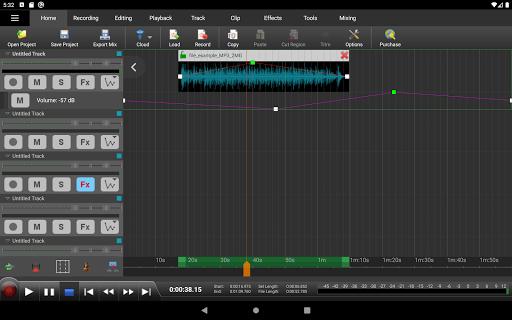 MixPad Multitrack Mixer Free 6.22 Screenshots 5