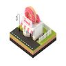 Doughnut shop game game apk icon