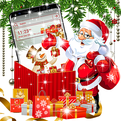 Baixar Christmas Gift Launcher Theme para Android