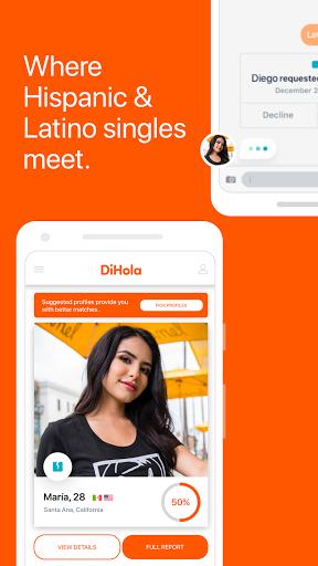 DiHola Dating App screenshot 1