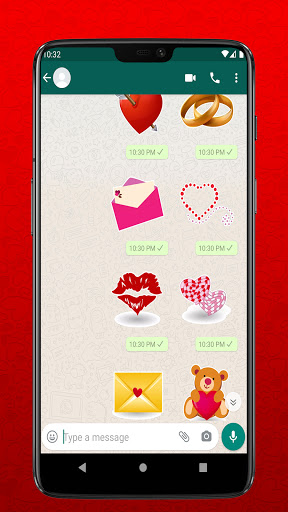 I Love You Stickers for Whatsapp - WAStickerapps  Screenshots 6