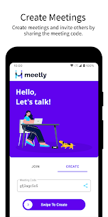 Ücretsiz Meetly – Free Video Conferencing  Video Meeting 3