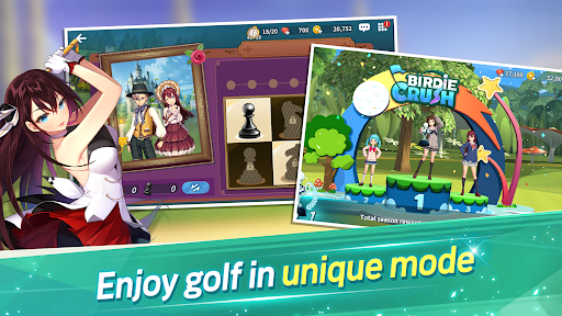 Birdie Crush: Fantasy Golf 2.0.5 screenshots 4