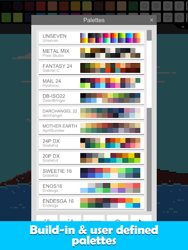 Pixel Studio - Pixel art editor, GIF animation 3.32 Screenshots 16