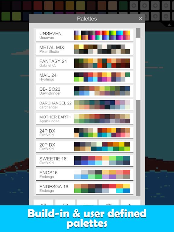 Pixel Studio - Pixel art editor, GIF animation  poster 15