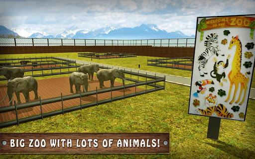 Wild Horse Zoo Transport Truck Simulator Game 2018 1.8 screenshots 14