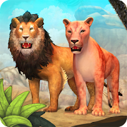 Lion Family Sim Online - Animal Simulator