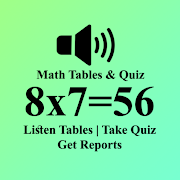 Math Tables-Times table, Multiplication Table Quiz
