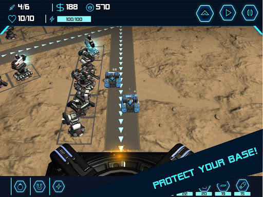 TD Tower Defense: Base Defender Tactical Tank War 1.6.4 screenshots 6