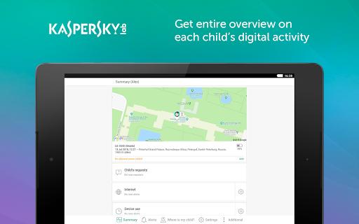 Parental Control & Kids GPS: Kaspersky SafeKids  screenshots 5