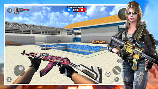 Modern Gun Strike:PvP Multiplayer 3D team Shooter  screenshots 9