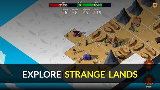 Code Triche Quest Lands : Slay the Titan - Roguelike Card RPG apk mod screenshots 2